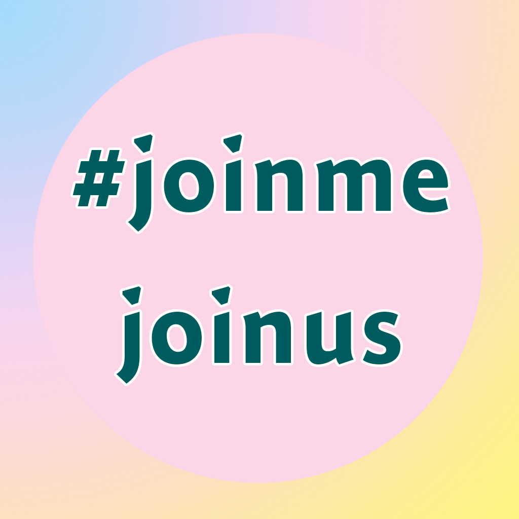 join me join us hashtag